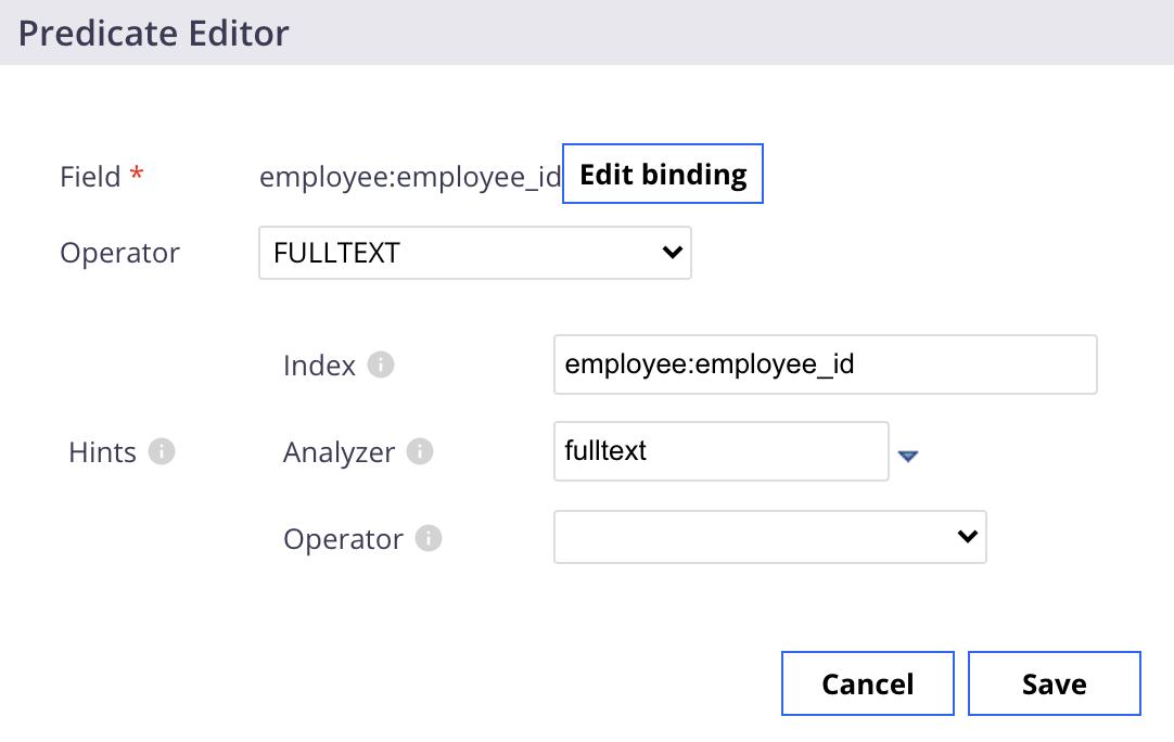 predicate-editor